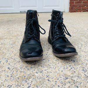 Steve Madden Men's Combat Boots
